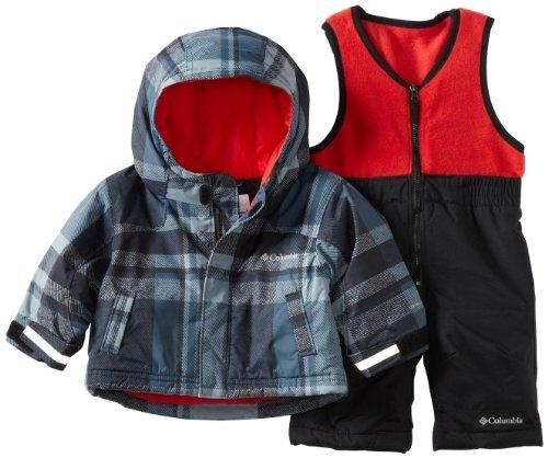 Columbia Unisex-baby Infant Snow Slope Set, Black