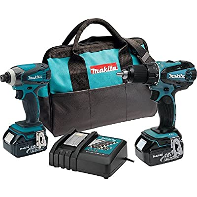 Makita 18-volt LXT Lithium-Ion Cordless Combo Kit