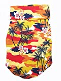 100% Cotton Tropical Hawaiian/Aloha Dog Shirt For Small and Medium Size Puppies and Dogs (Large)*Sizes Run Small- Please Measure*