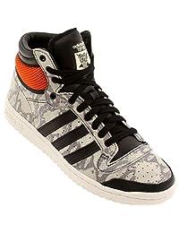 Adidas Mens TOP TEN HI CBLACK,CBLACK,WHTVAP M25601
