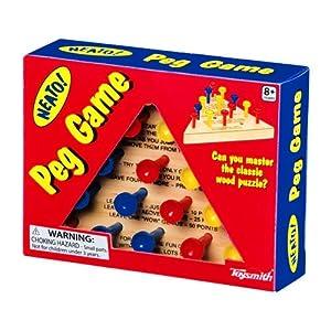 Toysmith Wooden Peg Game