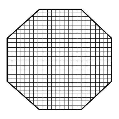 Fotodiox 10Egg48OCTEZ Pro Studio Solutions EZ Pro Octagon Softbox 48-Inch EggCrate - 50 degree Grid (Each Grid Size: 2-Inch x2 -Inchx1.5-Inch ), Egg Crate - Black