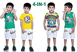 Bad Boys Pack of 4 Top & Bottom Combo.