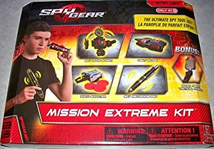 Spy Kit Spy Gear Mission Extreme Kit