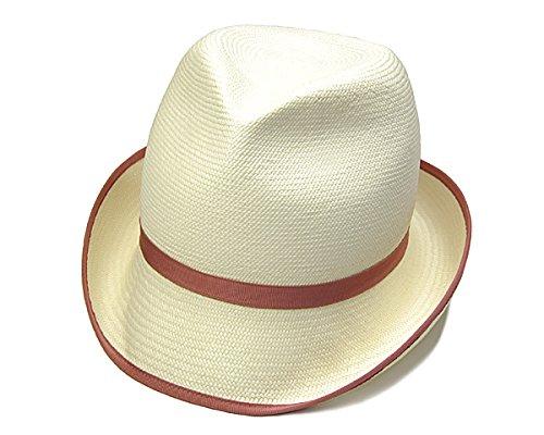 (ボルサリーノ) Borsalino 帽子 イタリア製 パナマ中折れ帽 58cm