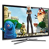 Samsung LE40C750 40-inch Widescreen Full HD 1080p 200Hz Motion Plus Allshare 3D Ready Internet LCD TV with Freeview HDby Samsung