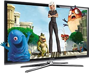 Samsung LE40C750 40-inch Widescreen Full HD 1080p 200Hz Motion Plus Allshare 3D Ready Internet LCD TV with Freeview HD