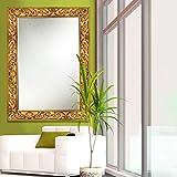 Elegant Arts & Frames Antique Gold Wall Decorative Wood Mirror 36 Inch X 24 Inch