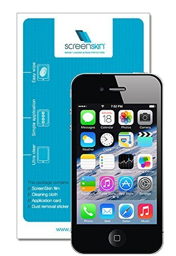 ScreenSkin® 0.3mm Tempered Glass Crystal HD Clear Transparent Screen Protector for Apple iPhone 6 4.7
