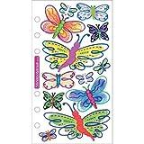 Sticko Vellum Stickers - Butterflies