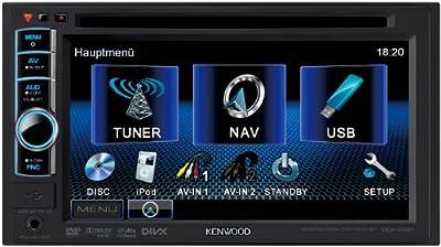 Kenwood DDX3021 Moniceiver (VGA Doppel DIN-Monitor, DVD, Apple iPod-ready, USB 2.0) schwarz von Kenwood Electronics Deutschland GmbH auf Reifen Onlineshop