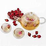 50g Red Rose Bud Health Beauty Raise Colour Chinese Flower Tea