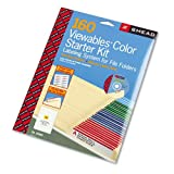 Smead Products - Smead - Viewables Color Labeling System, Top Tab Folder, 3 1/2 x 1 1/4, White, 160/Pack - Sold As 1 Kit - Easily create color-coded labels with pre-formatted Windows-based software. - Color-coded labels speed filing, prevent misfiling. - 14 color options, including black. - Windows-based PC software with memory prevents waste. - Places subject heading in predetermined locations.