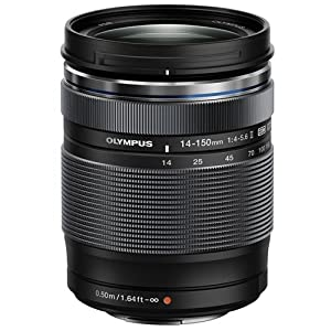 Olympus 14-150mm f/4.0-5.6 II Lens for Micro Four Thirds Cameras (Black)