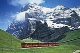 パズルの達人 達人検定2級 1500スモールピース 鉄道の旅 アイガーを望む登山鉄道 14-103