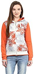 OKANE Women's Long Sleeve Sweatshirt (51754, Orange, L)