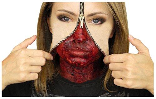 zipper-face-liquid-latex-set-hollywood-special-effects-halloween-make-up