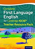 Complete First Language English for Cambridge IGCSERG Teacher Resource Pack