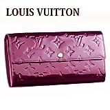 ルイヴィトン 財布 LOUIS VUITTON M91521 モノグラムヴェルニ サラ 長財布 ルージュ・フォーヴィスト