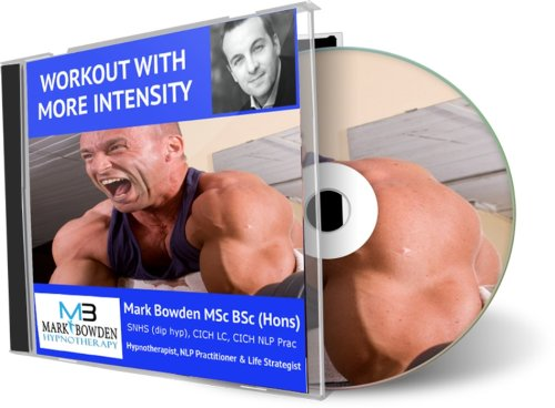 Workout With More Intensity Hypnosis Cd - Increase Your Belief And Desire To Push Stronger And To Work Harder. Increase Your Intensity And Multiply Your Results. Get Bigger Muscle, And Get Stronger, Quicker Than Ever Before. Your Bodybuilding Will Be So M