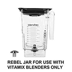 WildSide Rebel Container - FOR USE WITH VITAMIX BLENDERS ONLY - 90-ounce Wet with Lid and Blade