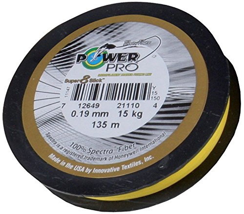 powerpro-super-8-slick-275m-019mm-15kg-gelb-geflochtene-angelschnur