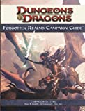 Forgotten Realms Campaign Guide, 4th Edition (0786949244) by Cordell, Bruce R.