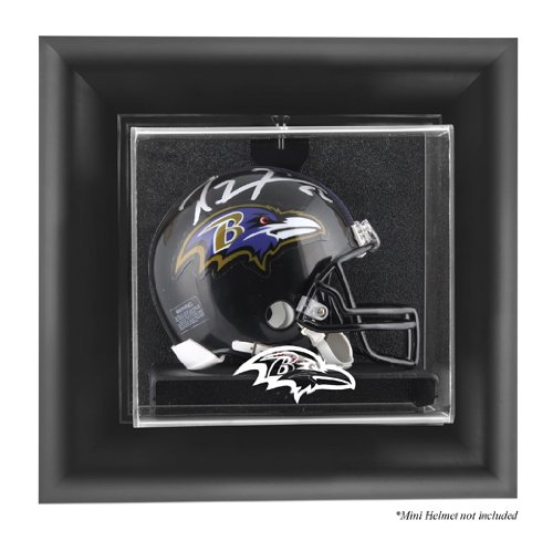 Mounted Memories Baltimore Ravens Wall Mounted Mini Helmet Display Case at Amazon.com