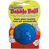 PetQwerks Talking Babble Ball Dog Toy, Medium