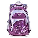 Vbiger Schulrucksack Schulranzen Sportrucksack Backpack für Mädchen Jungen Damen Herren