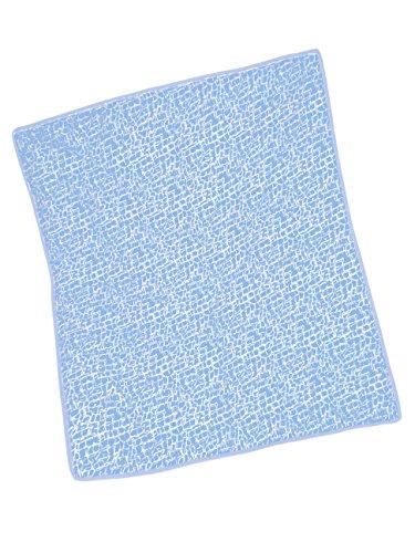 Baby Doll Cobblestone Crib Comforter, Blue - 1