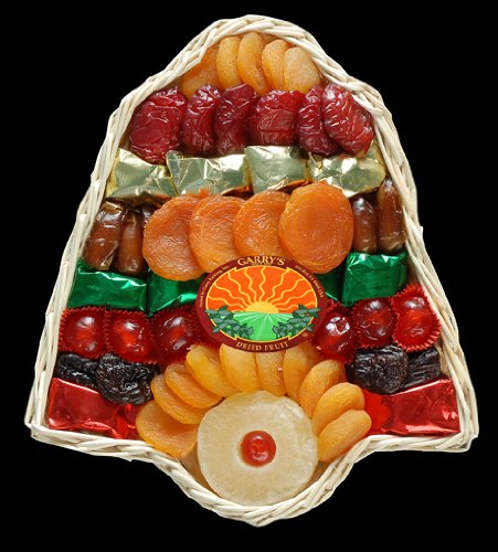 Garry's Dried Fruit Packs 1 Pounds Holiday Bell