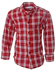 Babeezworld Boys checked Shirt Variation-3 Year
