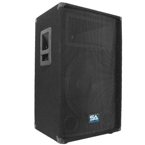 Seismic Audio - 15 Inch Pa Dj Speaker 350 Watts Pro Audio - Mains, Monitors, Bands, Karaoke, Churches, Weddings