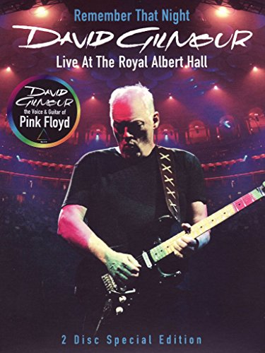 David Gilmour - Remember that night - Live at The Royal Albert Hall (special edition)