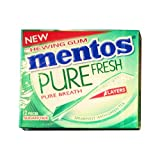 Mentos Pure Fresh, Sparemint Flavour With Green Tea, Chewing Gum (Pack Of 2)