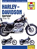 Harley Davidson Sportster 883 - 1200 1970-2010 Haynes Manual H2534