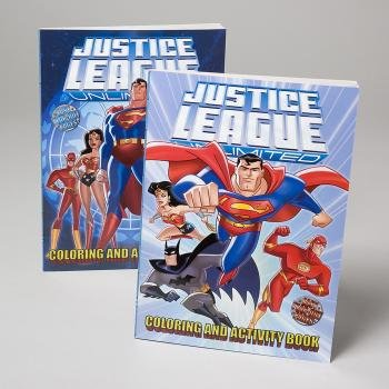 Justice League Unlimited Coloring and Activity Book (Assorted Cover Art)