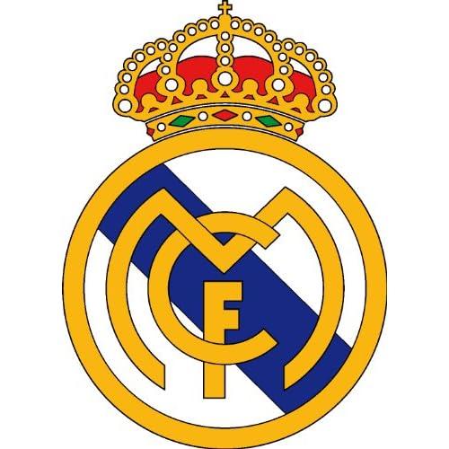 Sticker Autocollant Logo Football Real de Madrid 60cm