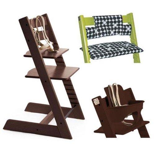 Stokke Tripp Trapp High Chair Cushion And Baby Rail