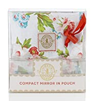 Kirstie Allsop Compact Mirror in Pouch