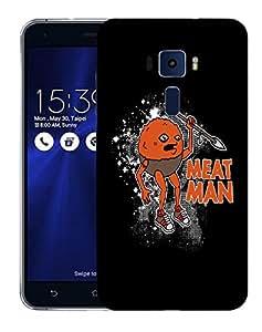 Snoogg Meat Man Designer Protective Back Case Cover For ASUS ZENFONE 3 ZE520KL