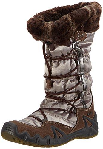 Primigi SHILO-E, Stivali da neve, gamba lunga, imbottitura calda Ragazza, Marrone (Braun (TORT.SC/TAUPE)), 40