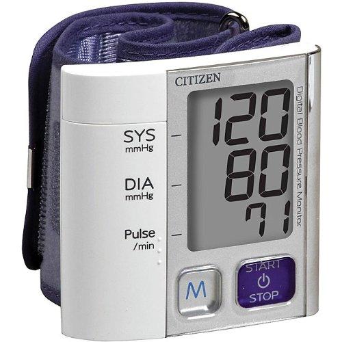 Image of Ultra Slim Citizen Wrist Blood Pressure Monitor (B003UBHAEA)
