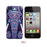 New Elephant head style Ultra Thin Soft TPU Silicon Case Cover For iphone 4/4s