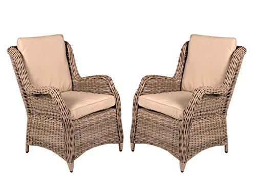 2er-Set-Polyrattan-Sessel-beige-grau-inkl-Kissen-Gartenstuhl-Esszimmer-hochwertig-Polyrattansessel-2-Stck