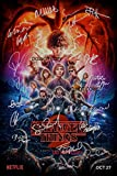 "Stranger Things Season 2 CAST Reprint SIGNED 12x18"" Poster #1 RP Netflix TV Show"