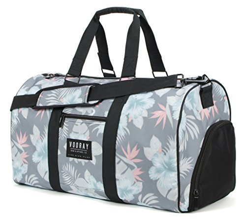 vooray-trepic-43l-weekender-duffel-bag-includes-drawstring-laundry-bag-mahalo-charcoal