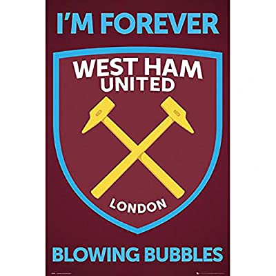 "Poster - West Ham United F.C ""Crest"" (35)"