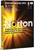 Norton internet security 2011 3 postes 1 an